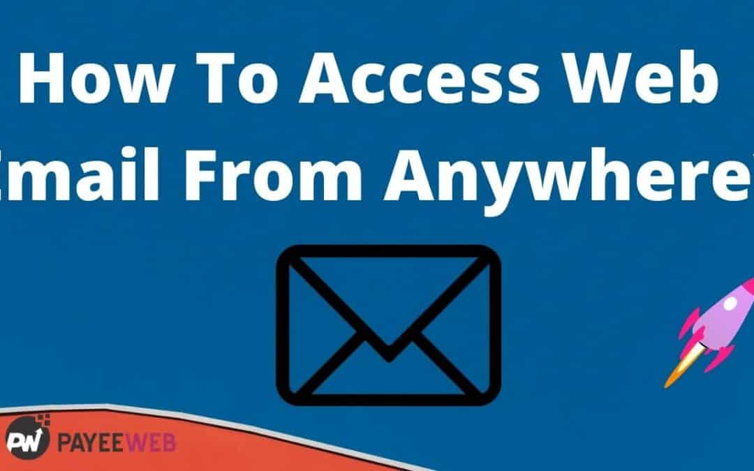 How to access web email from any pc or laptop?